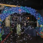 balloon art finding nemo arch theme - view our balloon art - spectacular display for events - shivoo balloons and decor specialists in coburg north