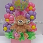It's a Girl Small Bouquet of Balloons