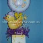 Duck and Purple Balloons for baby showers