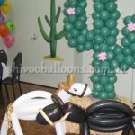 the horse and the cactus - view our balloon art - Balloons Coburg North - shivoo balloons and decor specialists in coburg north