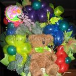 Teddy Grape Balloons