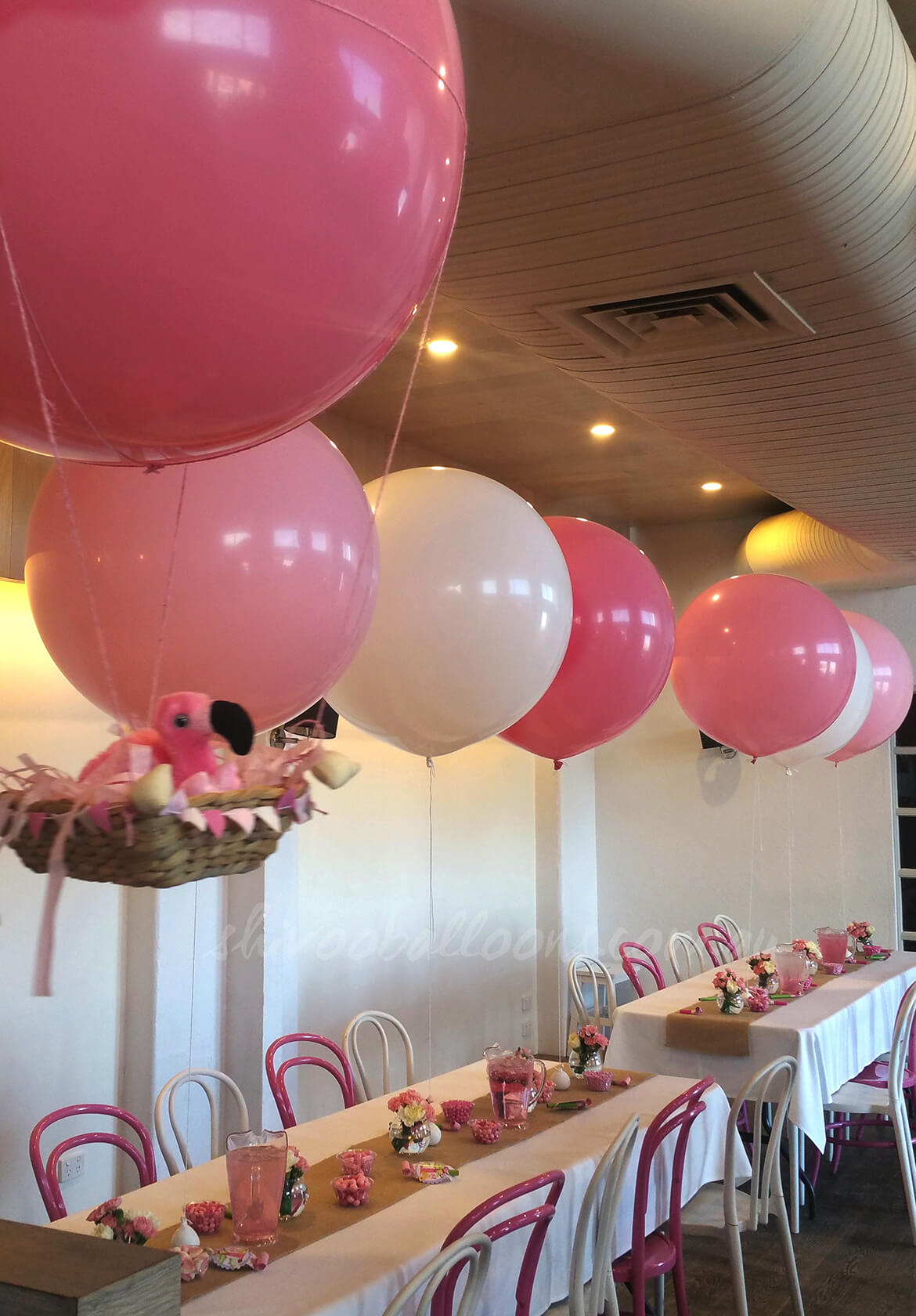 pink balloons party - see our events - Balloons Coburg North - shivoo balloons and decor specialists in coburg north