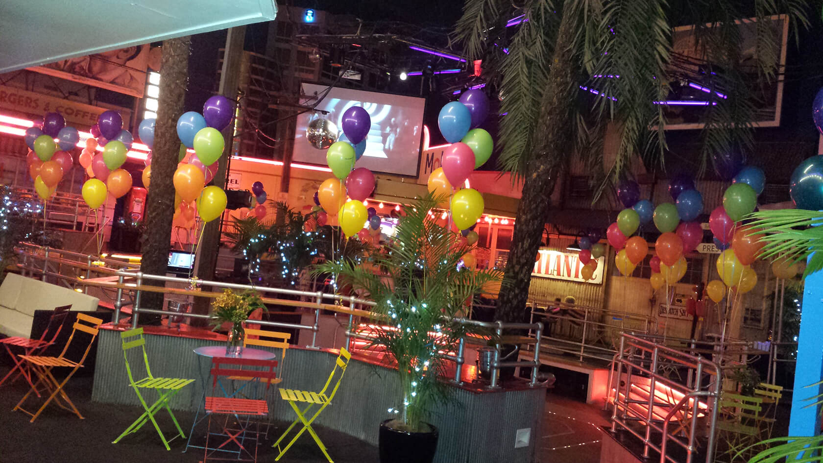 CE-35 - corporate - elegant centrepieces - shivoo balloons and decor specialists in coburg north