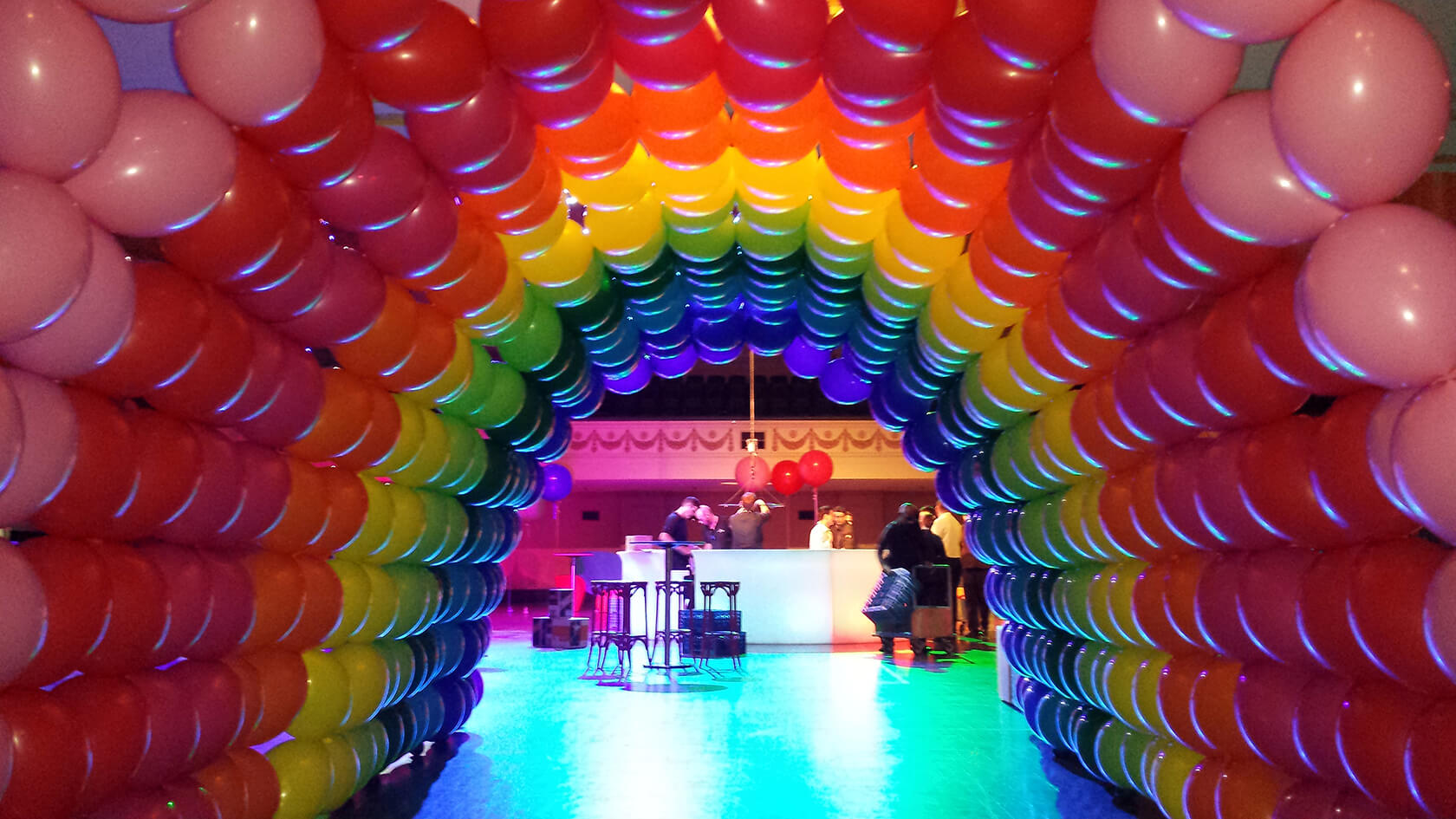 Party supply store - see our events - spectacular organic balloon installations - shivoo balloons and decor specialists in coburg north