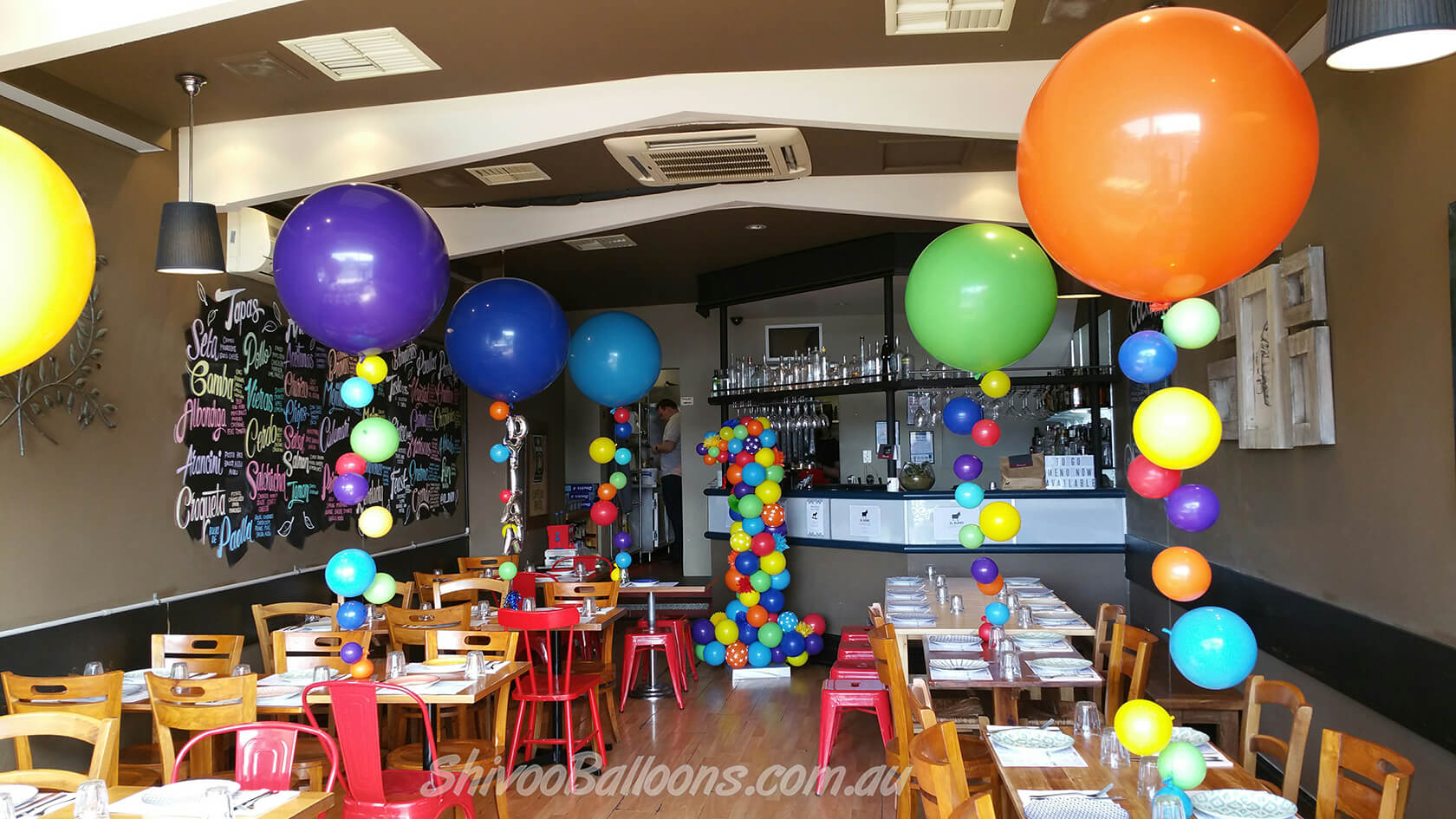 custom balloon arrangements - see our events - Corporate Balloons - shivoo balloons and decor specialists in coburg north