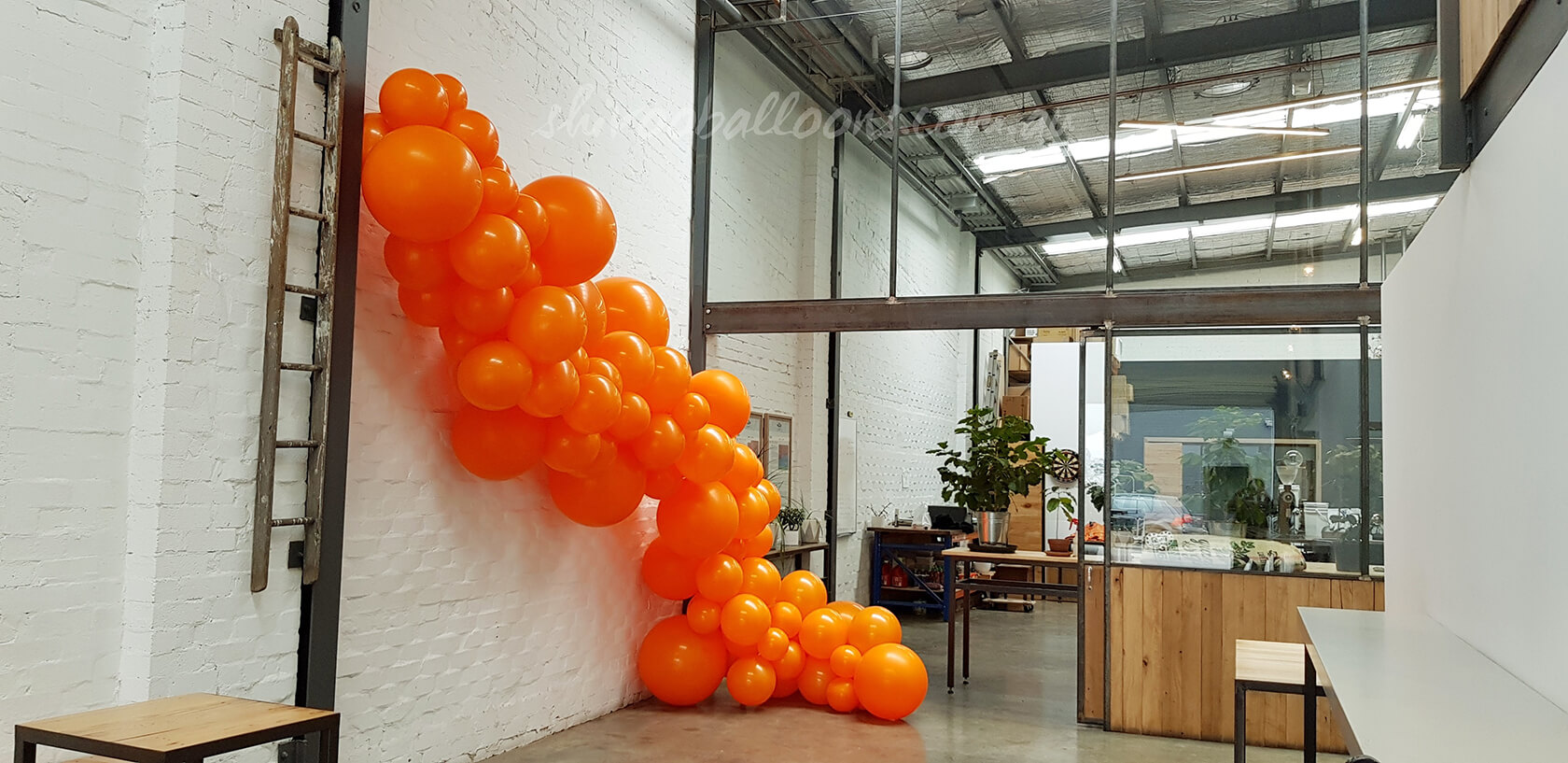 Organic Balloons Pascoe Vale, Melbourne - see our events - custom-made balloon decor Coburg North - shivoo balloons and decor specialists in coburg north