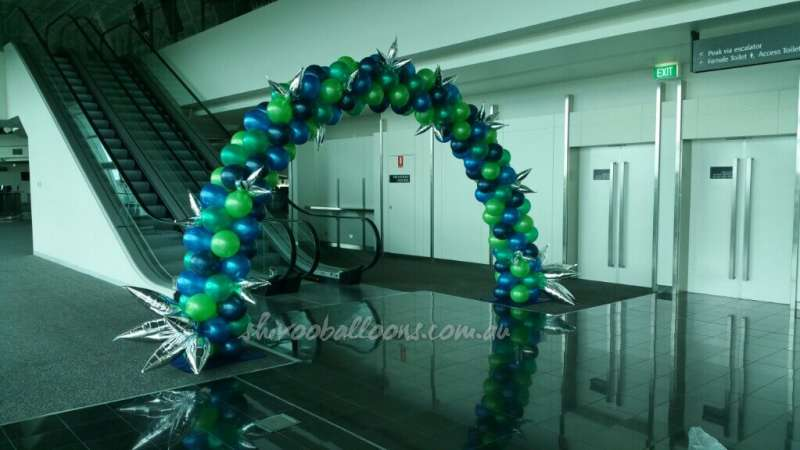 CE-5 - corporate - spectacular organic balloon installations - shivoo balloons and decor specialists in coburg north