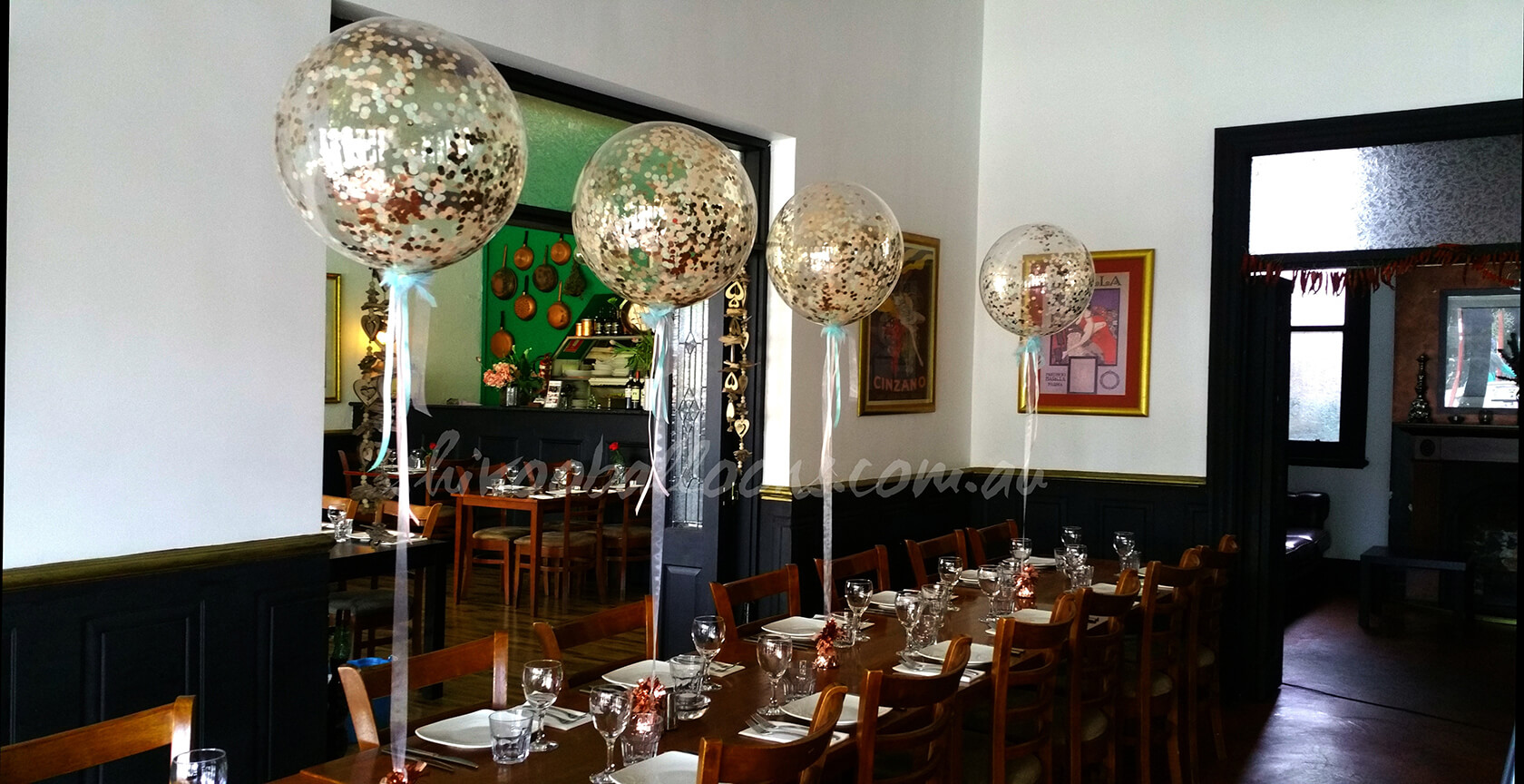 CE-65 - corporate - Organic Balloon private functions decor - shivoo balloons and decor specialists in coburg north