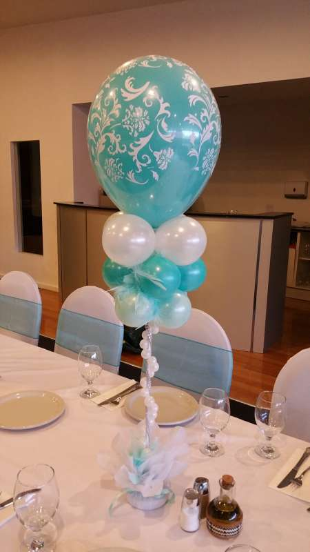 CP-13 - centrepieces - quality Balloon Art Coburg North - shivoo balloons and decor specialists in coburg north