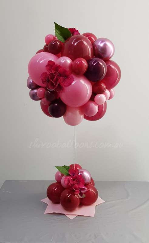 CP-26 - centrepieces - celebration balloons - shivoo balloons and decor specialists in coburg north