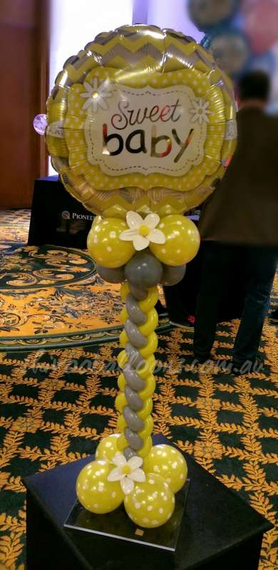 CP-28 - centrepieces - business event decor - shivoo balloons and decor specialists in coburg north