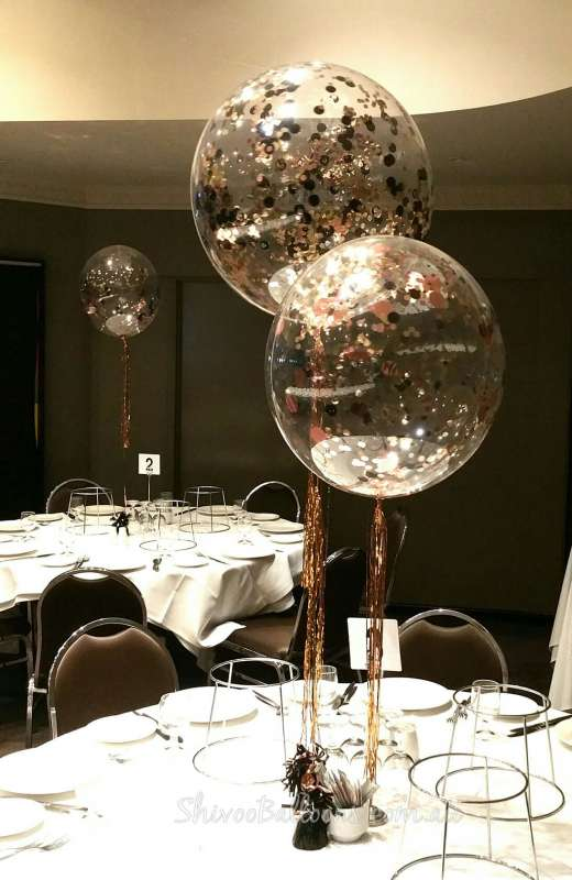 CP-33 - centrepieces - dazzling balloons - shivoo balloons and decor specialists in coburg north