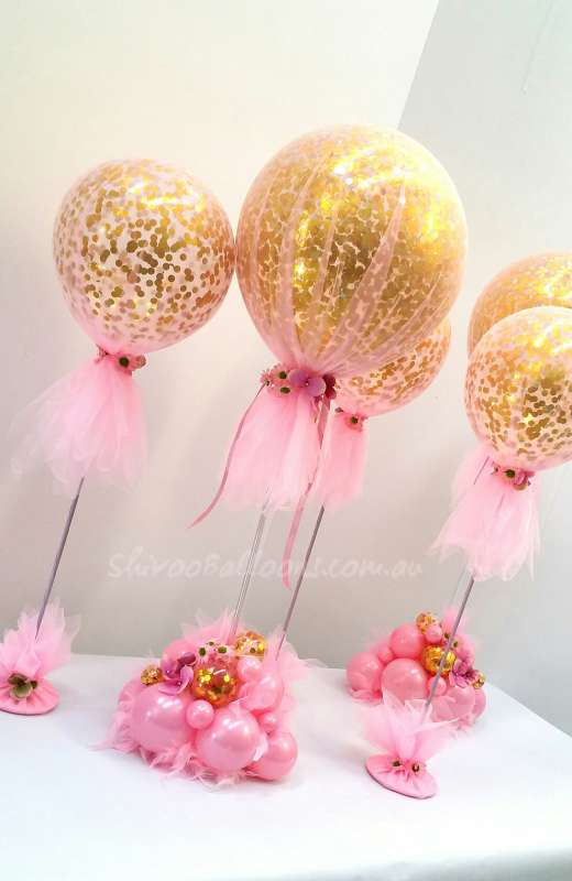 CP-38 - centrepieces - elegant centrepieces - shivoo balloons and decor specialists in coburg north