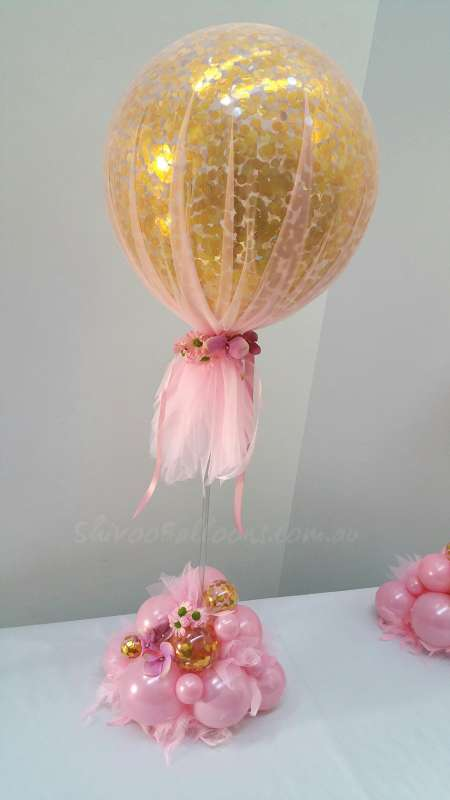 CP-39 - centrepieces - stunning decor balloons for event - shivoo balloons and decor specialists in coburg north