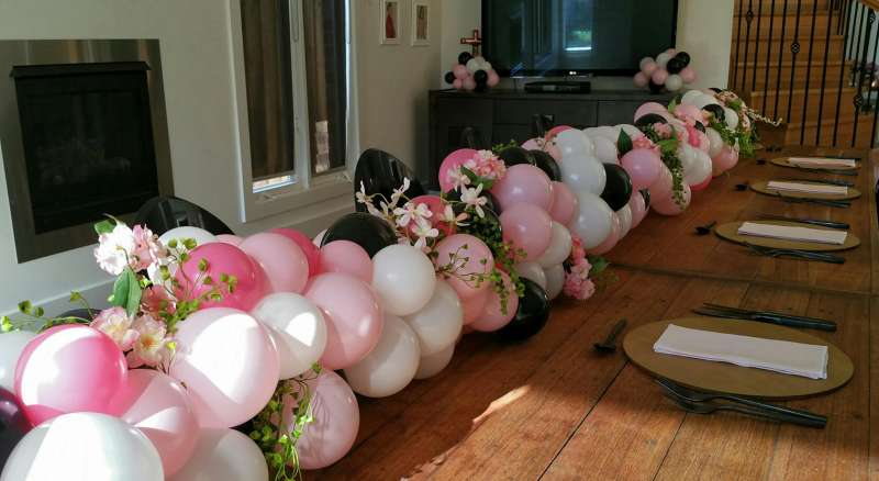 CP-4 - centrepieces - dazzling balloons - shivoo balloons and decor specialists in coburg north