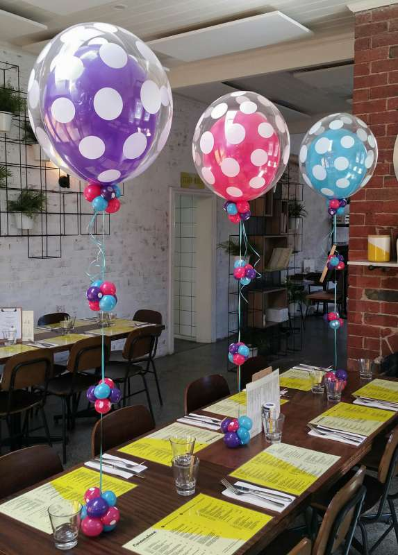 CP-5 - centrepieces - Corporate Balloons - shivoo balloons and decor specialists in coburg north