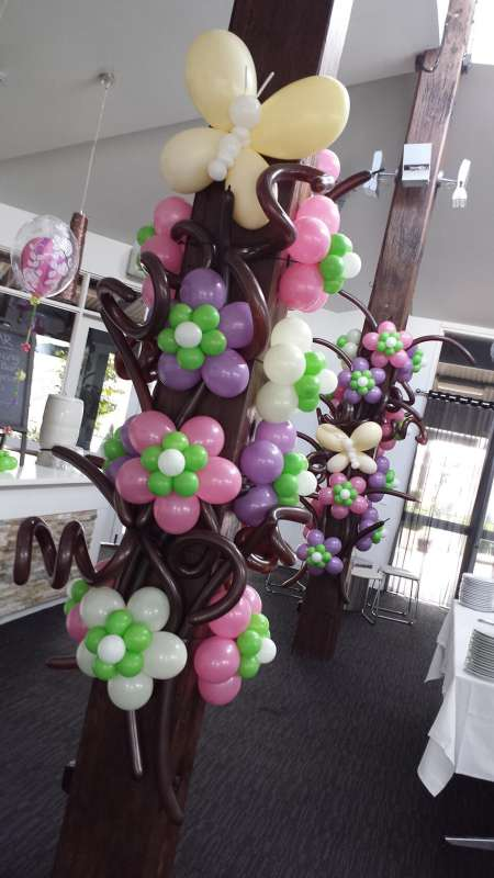 FD-19 - floor displays - spectacular organic balloon installations - shivoo balloons and decor specialists in coburg north