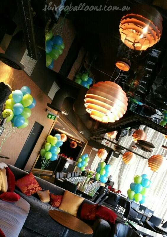 FD-2 - floor displays - Organic Balloon Designs - shivoo balloons and decor specialists in coburg north