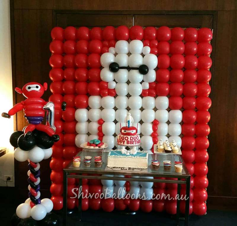 BD-28 - backdrop - custom-made balloon decor Coburg North - shivoo balloons and decor specialists in coburg north