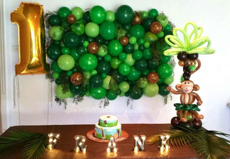 BD-32 - backdrop - Birthday Parties decor - shivoo balloons and decor specialists in coburg north