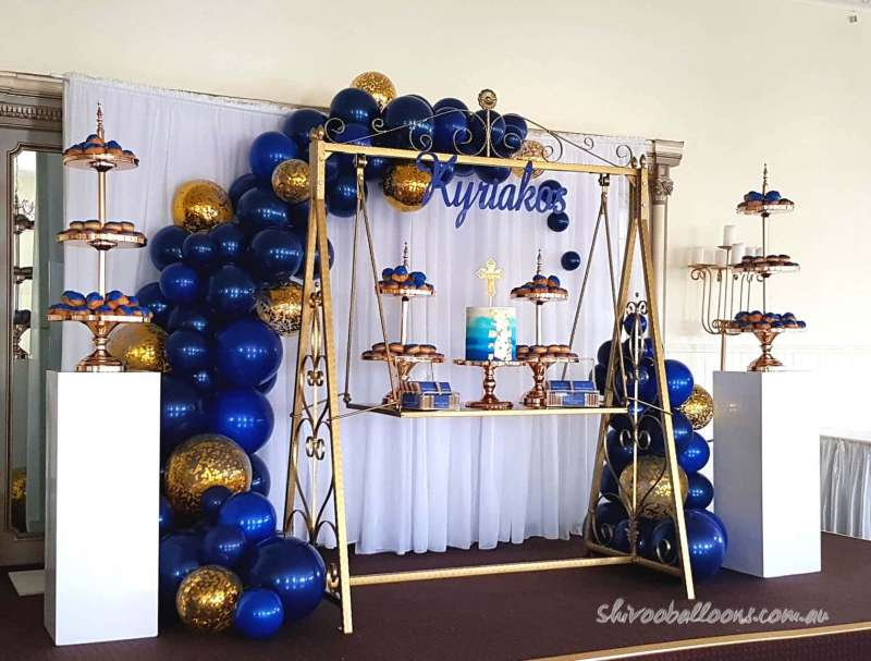 BD-37 - backdrop - spectacular display for events - shivoo balloons and decor specialists in coburg north