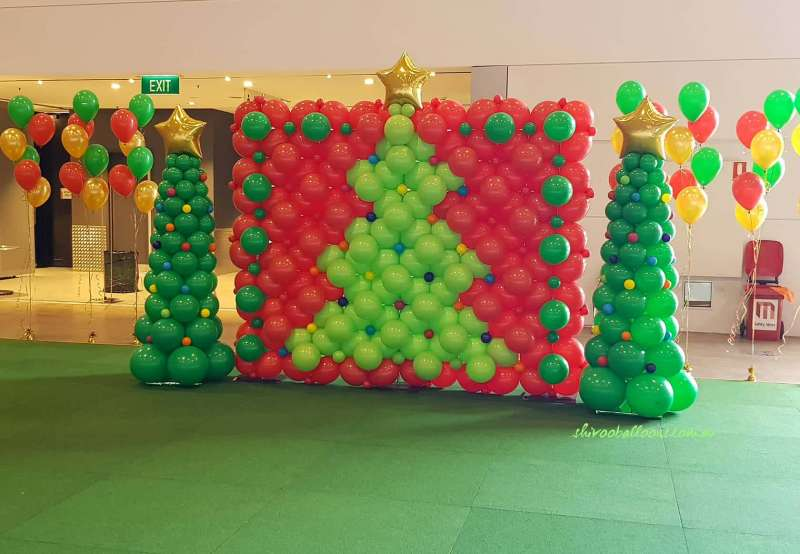 BD-38 - backdrop - Balloons in Melbourne - shivoo balloons and decor specialists in coburg north