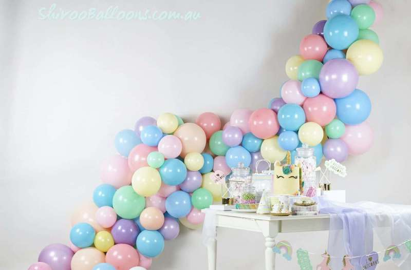 BD-40 - backdrop - Organic Balloon private functions decor - shivoo balloons and decor specialists in coburg north