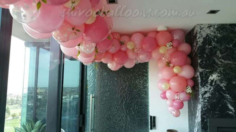 CD-1 - ceiling decor - Melbourne's Balloon Specialist - shivoo balloons and decor specialists in coburg north