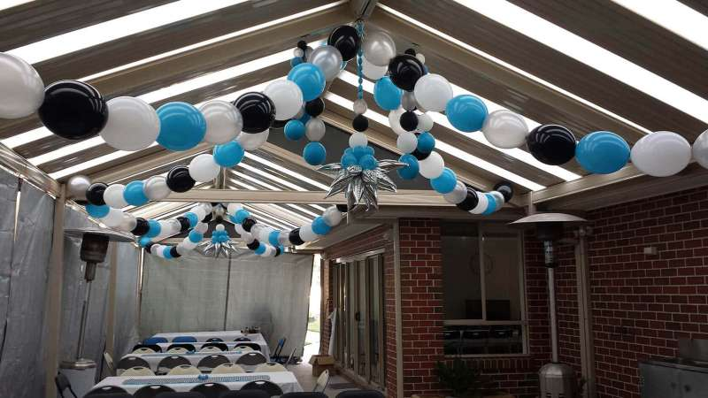 CD-3 - ceiling decor - Melbourne's Balloon Specialist - shivoo balloons and decor specialists in coburg north
